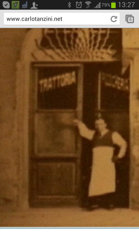 trattoria renzino 1930